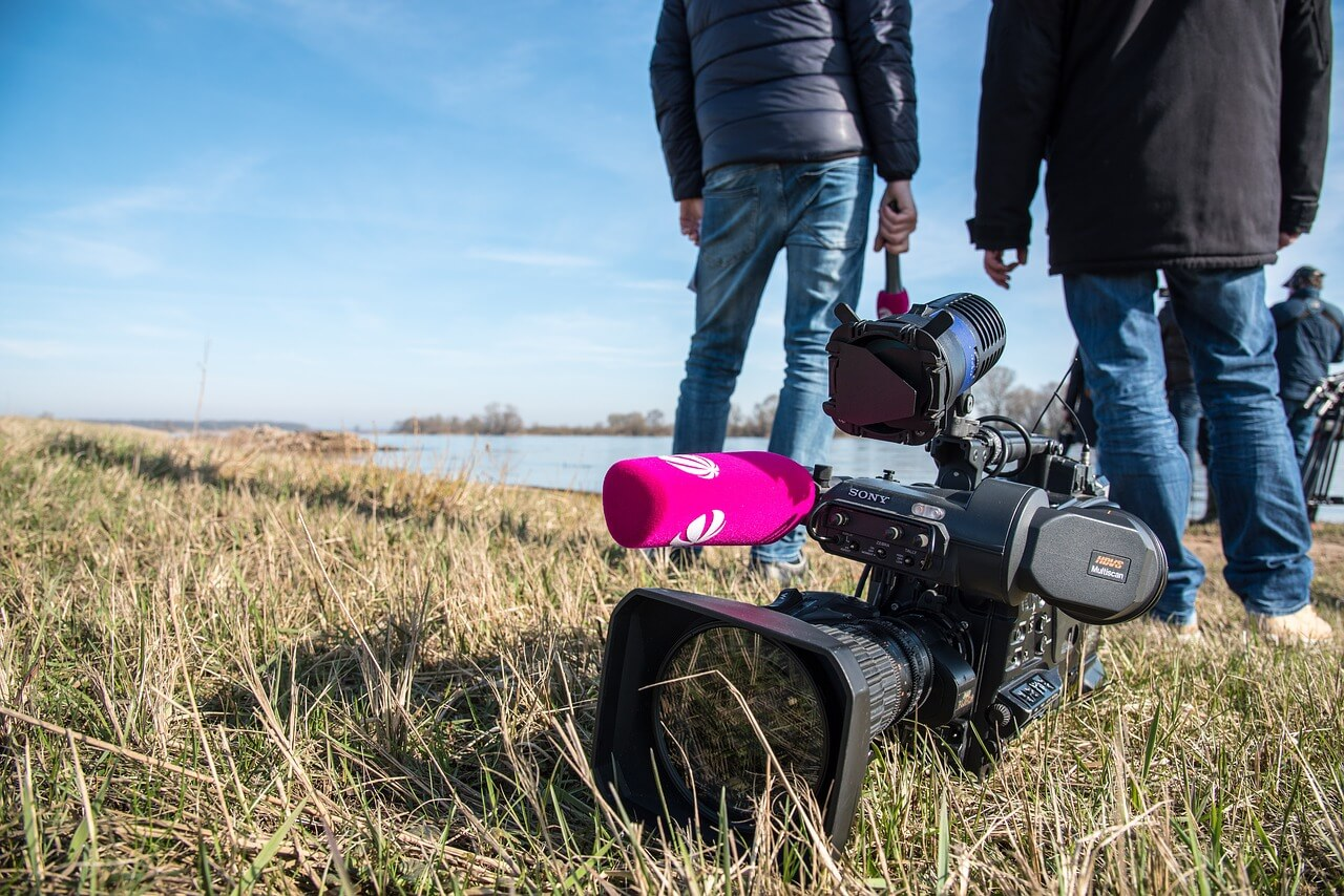 Television camera on the ground - Why media training is essential to protect your business reputation